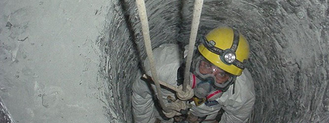 Confined Space Rope Access Dynamic Access