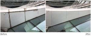Dynamic Access Commercial Glazing Services Facade Cleaning Before and After JPG 003